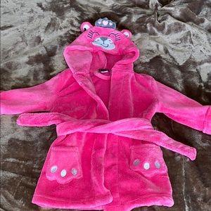 Plush robe Princess bear